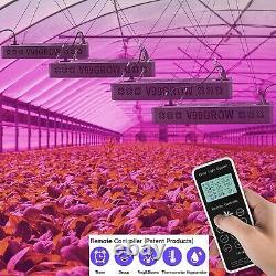 Télécommande 8000w Led Poussez Une Lampe De Lumière Pleine Spectre Plantes Intérieures Veg Fleur
