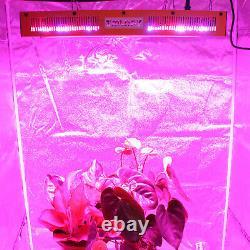 Tmlapy 1500w Led Grow Light Full Spectrum For Indoor Plants Veg&bloom
