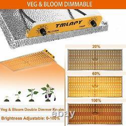 Tmlapy 3000w Led Grow Light Sunlike Full Spectrum Indoor Plants Veg Flower