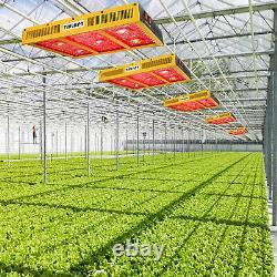 Tmlapy Cob 2500w Led Grow Light Full Spectrum Pour Plantes D'intérieur & Veg Bloom Lampe