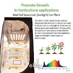 Topogrw Hydroponique 1800w Led Grow Light Full-spectrum Pour L'usine Et Veg Bloom