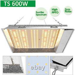 Ts 600w Led Grow Light Veg Flower Plant Growth +2'x2' Grow Tent Complete Kit USA