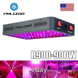 Ul 900w Led Grow Lumière Intérieure 12 Full Spectrum Band Avec Veg Bloom Double Commutateur