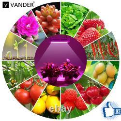 Vander 9000w Bloom Plus Led Grow Light Dual Spectrum Veg Flower Plant Lamp Set