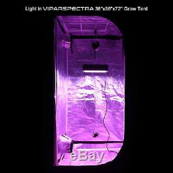 Viparspectra 2pcs Dimmable1000w Double Puce Led Full Spectrum Grow Light Veg Bloom