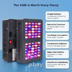 Viparspectra 300w Led Grow Light Full Spectrum Pour Les Plantes Intérieures Veg Et Fleurs