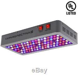 Viparspectra 450w Led Grow Pleine Lumière Plantes Spectre Veg Fleurs Replace Hps Hid