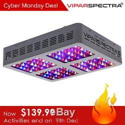 Viparspectra 600w Led Grow Light Full Spectrum Pour Hydroponique Plante Veg Fleur