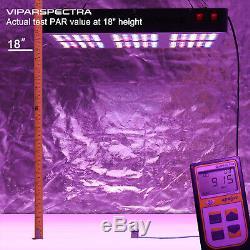 Viparspectra 900w Led Grow Light Full Spectrum Pour Plantes D'intérieur Veg Fleur