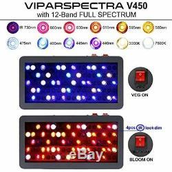 Viparspectra Certifié Ul 1200w Led Grow Light Pour Les Plans Intérieur Et Veg