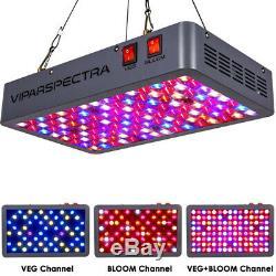 Viparspectra Dernières 600w Led Grow Light Full Spectrum Pour La Culture Hydroponique Veg & Fleurs