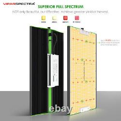 Viparspectra P2000 Full Spectrum Led Grow Light Pour Toutes Les Plantes D'intérieur Veg Fleurs
