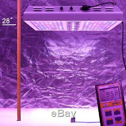 Viparspectra Par1200 1200w 12 Bande Peut Être Obscurci Led Élèvent La Lumière Veg Bloom Gradateurs