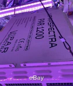 Viparspectra Par1200 1200w 12 Bande Peut Être Obscurci Led Grow Light Veg Bloom Gradateurs
