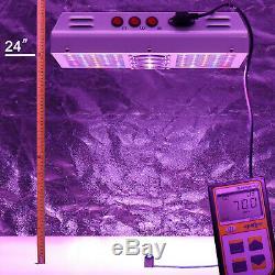 Viparspectra Par600 600w Led Grow Light Full Spectrum Pour L'intérieur Des Végétaux Veg / Bloom