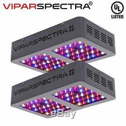 Viparspectra Réflecteur Série De 300w Led Grow Plantes D'intérieur Lumière Veg Fleurs