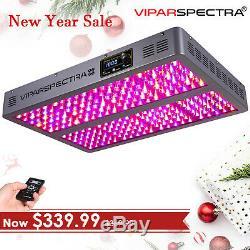 Viparspectra Série Chronocommande Dimmable Tc1200 1200w Led Grow Light Veg / Bloom