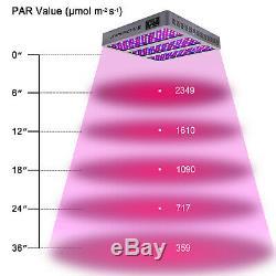 Viparspectra Série Chronocommande Tc1350 1350w Led Grow Light Dimmable Veg / Bloom