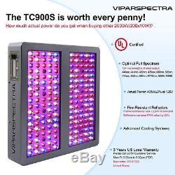 Viparspectra Série Chronocommande Tc900s 900w Led Grow Light Dimmable Veg / Bloom