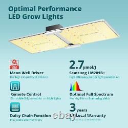 Viparspectra Télécommande Vb2000 Led Grow Light Full Spectrum Pour Les Fleurs Veg