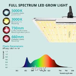 Viparspectra Vb1500 Led Grow Light Full Spectrum Samsungled For Veg Flower Plant
