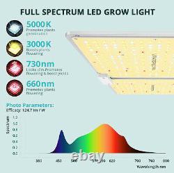 Viparspectra Vb2000 Led Grow Light Full Spectrum Samsung Led Pour Veg Bloom Plant