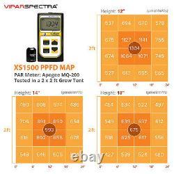Viparspectra Xs1500 Led Grow Light Samsungled Lm301b Veg Flower For All Plants