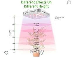 Vivosun 1200w Crie Cob Led Grow Light Full Spectrum Veg Bloom Pour Plantes D'intérieur