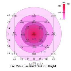 Vivosun 600w Led Grow Light Full Spectrum Veg Bloom Pour L'intérieur Des Végétaux Hydroponique