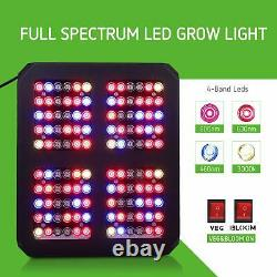 Vivosun 600w Led Grow Light Full Spectrum With Veg Bloom Switch For Indoor Plants