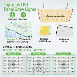 Vivosun Ts 1000w Led Grow Light Full Spectrum For Indoor Plant Veg Flower Hps