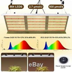 Whiterose 2000w 4000w 6000w Led Grow Light Pour Plantes D'intérieur Veg Full Spectrum