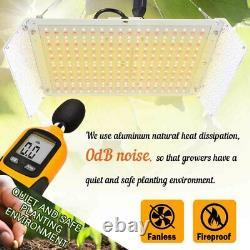 Whiterose 2000w Led Grow Light Full Spectrum Pour L'intérieur Veg Uv Ir Fleur Booster