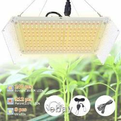 Whiterose 2000w Led Grow Light Panel Sunlike Full Spectrum Lamp For Seeding Veg