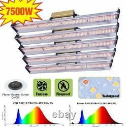 Whiterose 7500w Led Grow Light Strip Full Spectrum For All Indoor Veg Plants