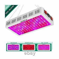 Yehsence 1500w Led Grow Light Bloom - Veg Switch Triple-chips 15w Led Mmzzerj2k7